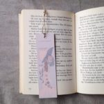 Bokmärket ligger i boken Kometen kommer av Tove Jansson